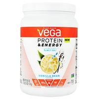 Vega Protein & Energy - Vanilla Bean - 15 Servings - 838766006253