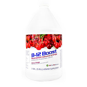High Performance Fitness B-12 Boost - Cherry Charge - 1 gallon - 673131100774