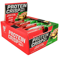 BSN Protein Crisps - Candy Cane - 12 Bars - 834266908905