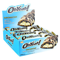 ISS Research OhYeah! Bar - Cookie Caramel Crunch - 12 Bars - 788434114646