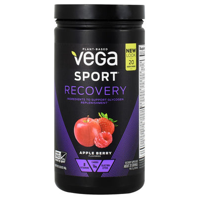 Vega Sport Recovery - Apple Berry - 20 Servings - 838766009018