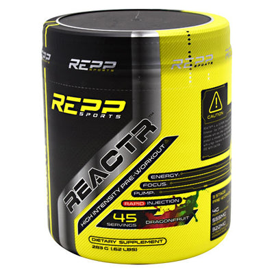 Repp Sports REACTR - Dragonfruit - 45 Servings - 851090006539