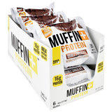 Bake City/ Protein+ Muffin+ Protein - Double Chocolate - 6 ea - 10814856010789