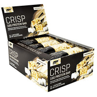 MusclePharm Combat Series Crisp Protein Bar - Marshmallow - 12 Bars - 851387008857