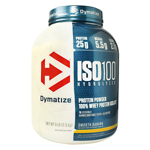 Dymatize ISO100 - Smooth Banana - 5 lb - 705016353163