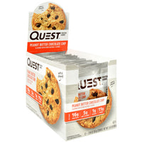 Quest Nutrition Quest Protein Cookie - Peanut Butter Chocolate Chip - 12 ea - 888849008056