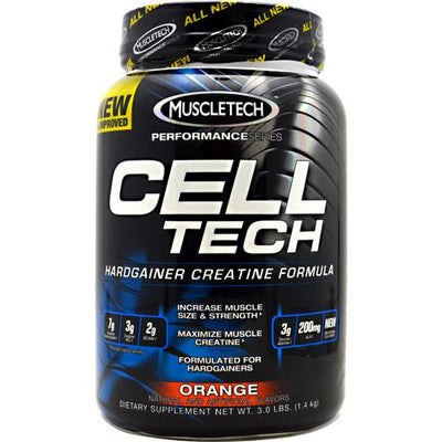 Muscletech Performance Series Cell-Tech - Orange - 3 lb - 631656703191