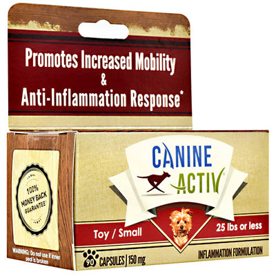 Canine Activ Small Breed Canine Activ - 90 Capsules - 349597000049
