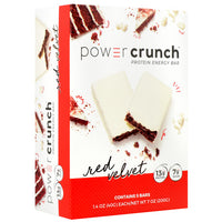 Power Crunch Power Crunch - Red Velvet - 5 Bars - 644225730085