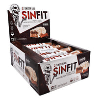 Sinister Labs Sinfit Bar - Cinnamon Crunch - 12 ea - 853698007314