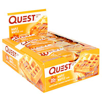 Quest Nutrition Quest Protein Bar - Maple Waffle - 12 Bars - 888849006380