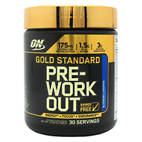 Optimum Nutrition Gold Standard Pre-Workout - Blueberry Lemonade - 30 Servings - 748927052961
