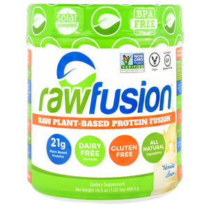 SAN Raw Fusion - Vanilla Bean - 15 Servings - 672898530503