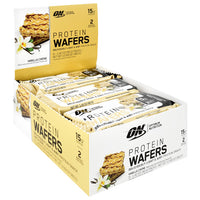 Optimum Nutrition Protein Wafers - Vanilla Creme - 9 ea - 748927961058