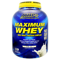 MHP Maximum Whey - Vanilla Ice Cream - 5 lb - 666222008721