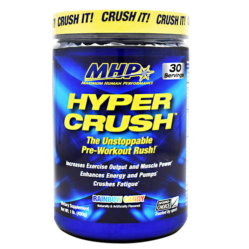 MHP Hyper Crush - Rainbow Candy - 30 Servings - 666222008943