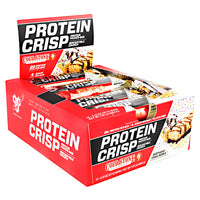 BSN Cold Stone Creamery Protein Crisps - Birthday Cake Remix - 12 Bars - 834266909650