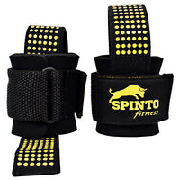 Spinto USA, LLC Heavy Duty Lifting Straps - Black -   - 636655966486