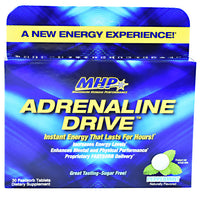 MHP Adrenaline Drive - Peppermint - 30 Tablets - 666222008844