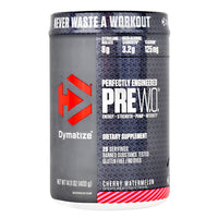 Dymatize Pre W.O. - Cherry Watermelon - 20 Servings - 705016171057