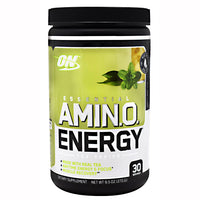 Optimum Nutrition Tea Series Essential Amino Energy - Sweet Mint Tea - 30 Servings - 748927057935