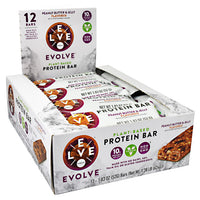 Cytosport Evolve Evolve Bar - Peanut Butter and Jelly - 12 Bars - 660726526262