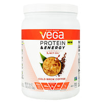 Vega Protein & Energy - Cold Brew Coffee - 15 Servings - 838766006314