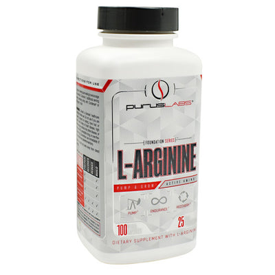 Purus Labs Foundation Series L-Arginine - 100 Capsules - 855734002826
