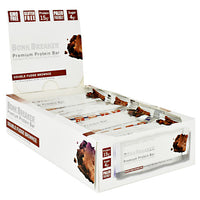 Bonk Breaker Premium Protein Bar - Double Fudge Brownie - 12 Bars - 040232692109
