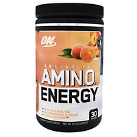 Optimum Nutrition Tea Series Essential Amino Energy - White Peach Tea - 30 Servings - 748927057928