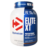 Dymatize Elite XT - Fudge Brownie - 4 lb - 705016891122