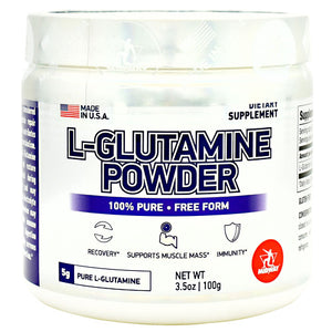 Midway Labs L-Glutamine Powder - 20 Servings - 813236024364