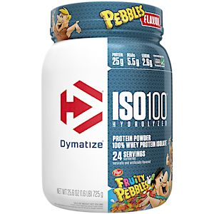 Dymatize ISO100 Hydrolyzed 100% Whey Protein Isolate - Fruity Pebbles