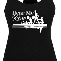 Hear Me Roar Ladies Tank