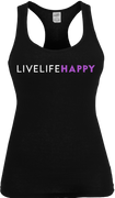 Live Life Happy Ladies Tank