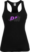PM4HER Tank Black & Purple Logo
