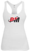 PM4HER Tank White & Red Logo