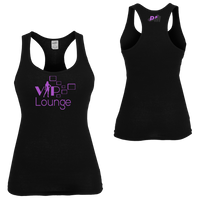 VIP4HER Tank Black & Purple