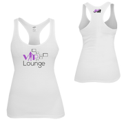 VIP4HER Tank White & Purple