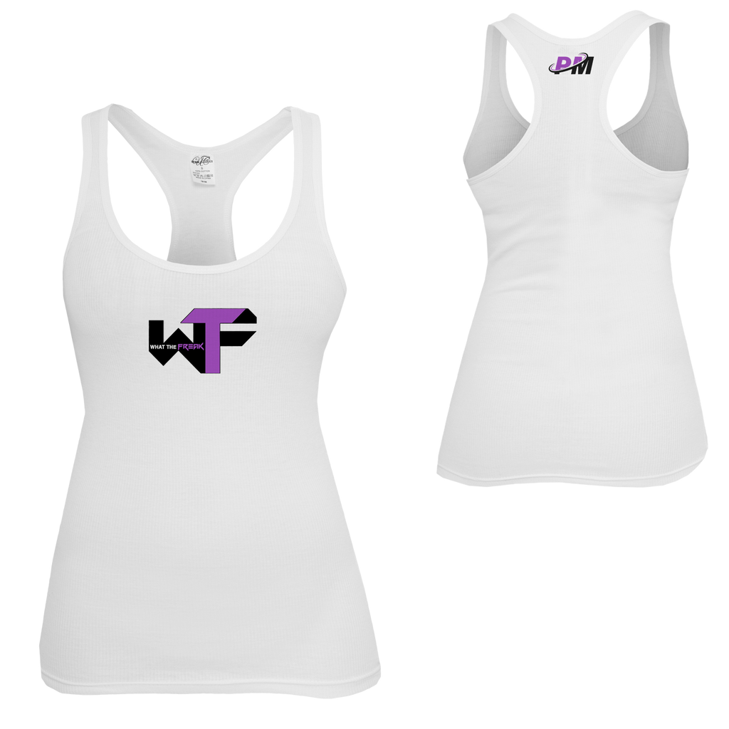 What the Freak Ladies Tank White