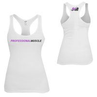 PM4HER Tank White & Purple
