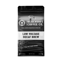 Blackout Coffee Co. Low Voltage Decaf Brew