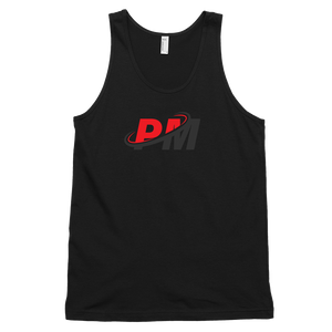 PM Tank Black & Red Logo