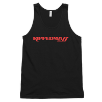 Ripped Mass Tank Black