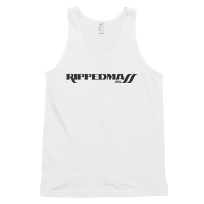 Ripped Mass Tank White