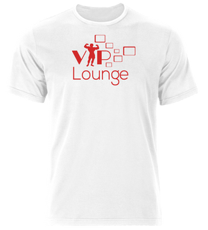 VIP Lounge Tshirt White & Red