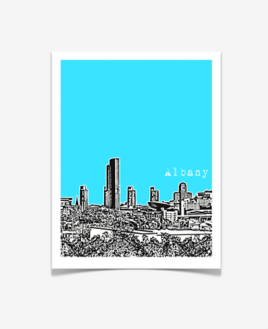 Albany New York Poster