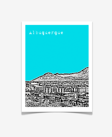 Albuquerque New Mexico Poster