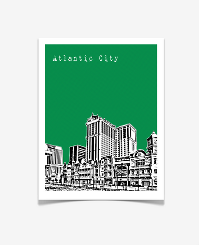 Atlantic City New Jersey Poster