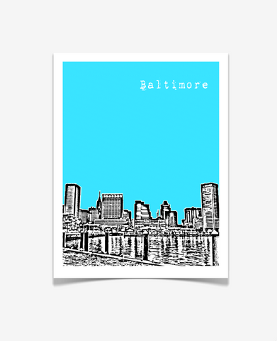 Baltimore Maryland Poster